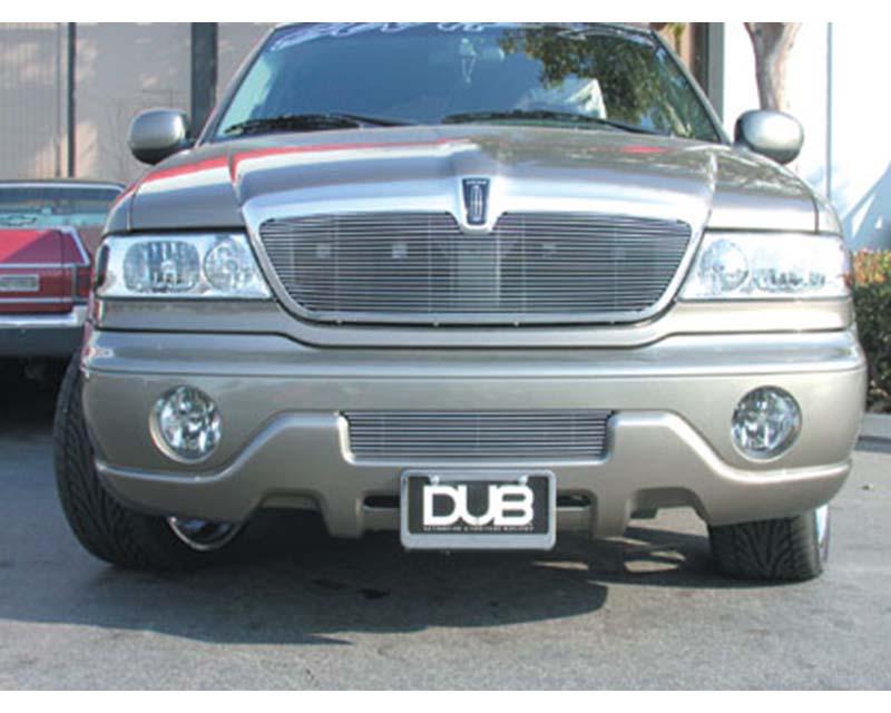Navigator Grille Insert 98-02 Lincoln Navigator Aluminum Polished Billet Series T-REX Grilles - 20690