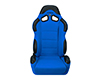 Image of Corbeau CR1 Reclining Seat in Blue Cloth 20905