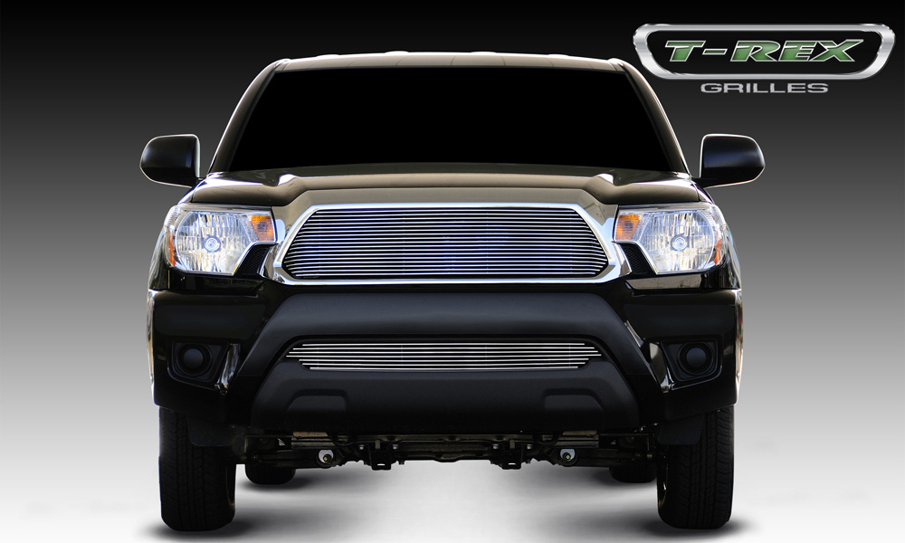Tacoma Grille Insert 12-15 Toyota Tacoma Aluminum Polished Billet Series T-REX Grilles - 20938