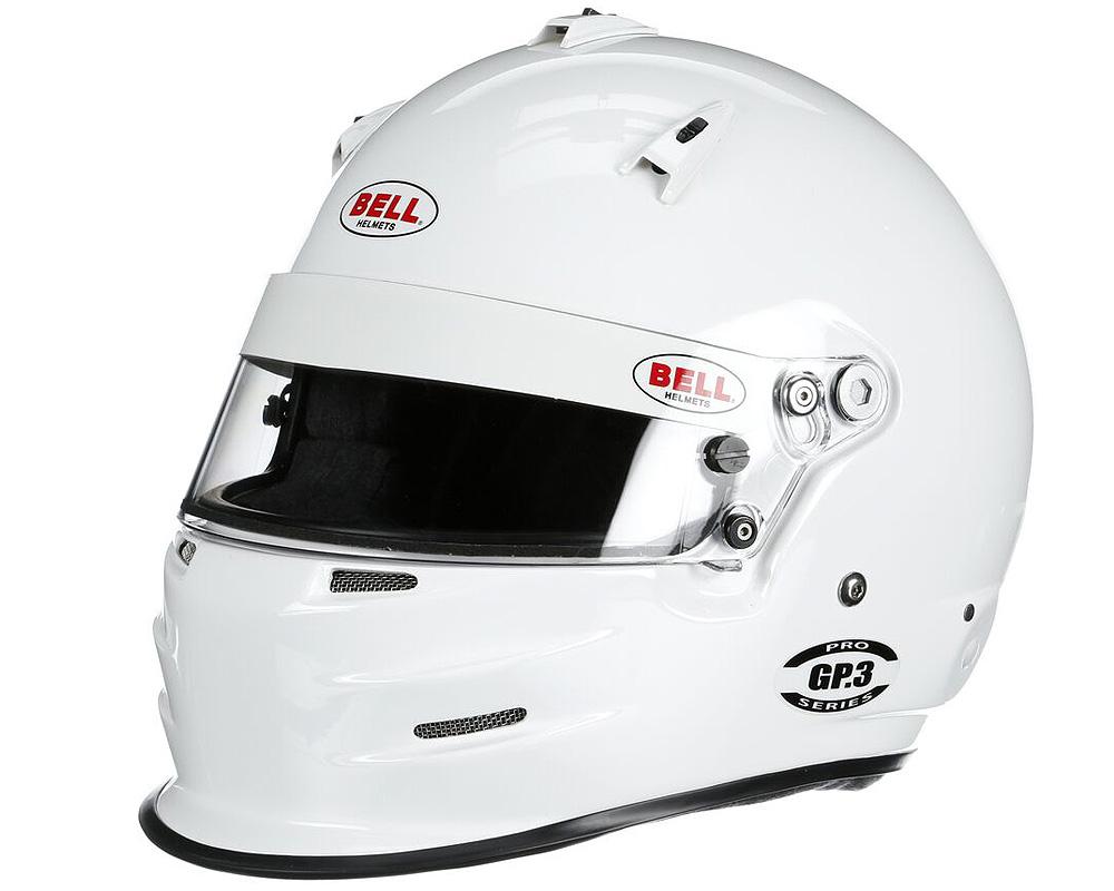 Bell Racing GP.3 White Helmet 61 | 7 5/8 SA2015 | FIA8859-2015