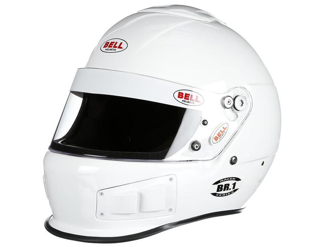 Bell Racing BR.1 White Helmet 61+   XL SA2015