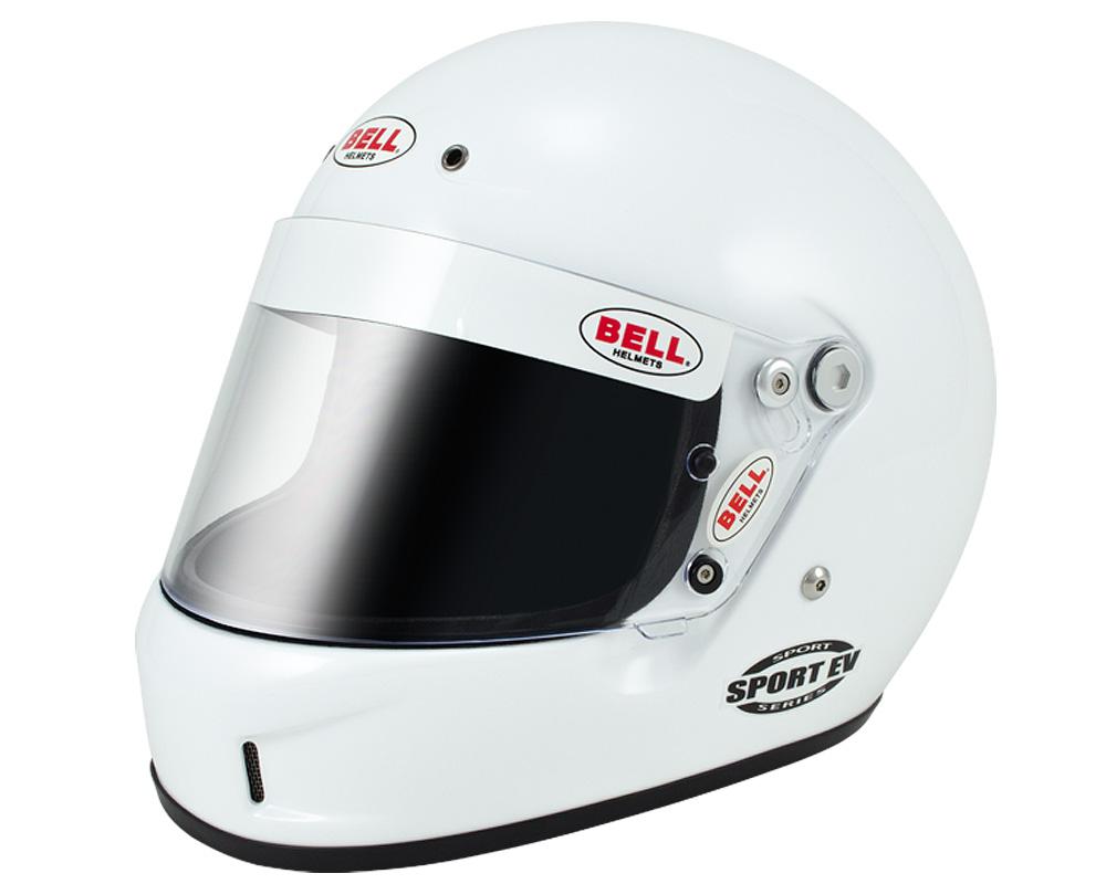 Bell Racing Sport EV White Helmet 61 | XL SA2015