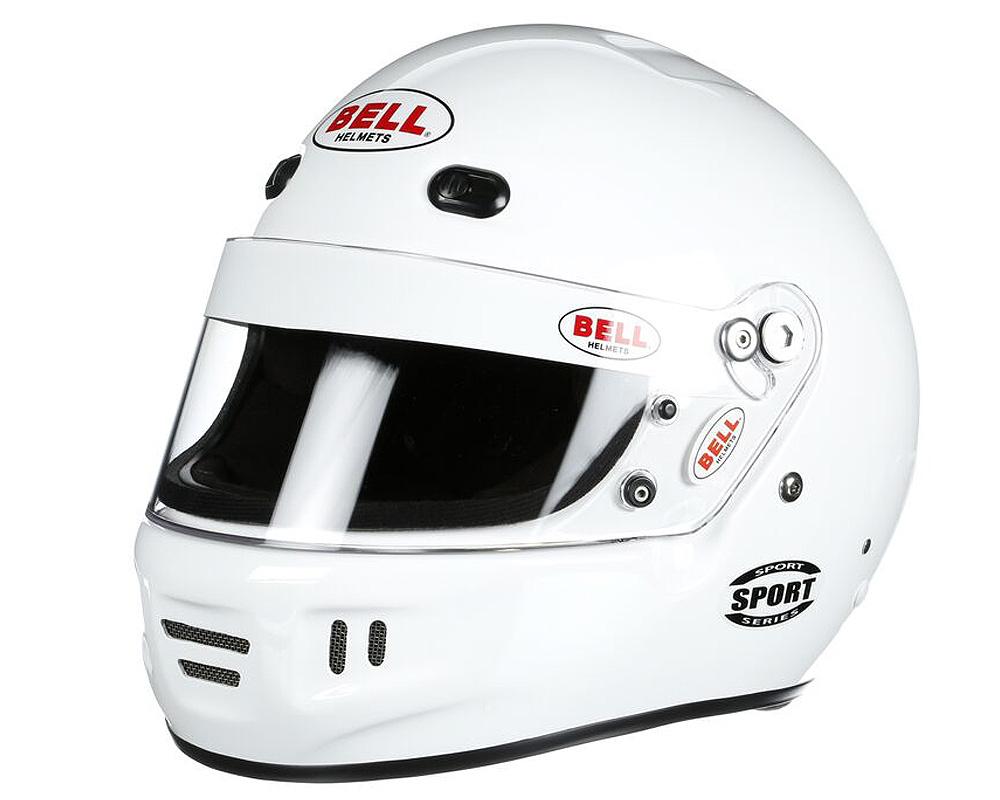 Bell Racing Sport White Helmet 61+ | XL SA2015