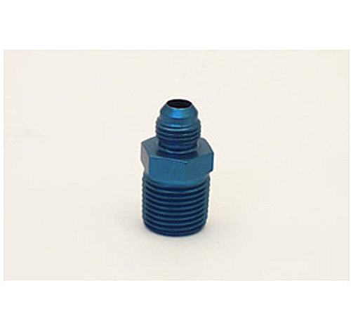 Canton Racing Adapter Fitting 1/2-Inch NPT to -6 AN Aluminum - 23-243A