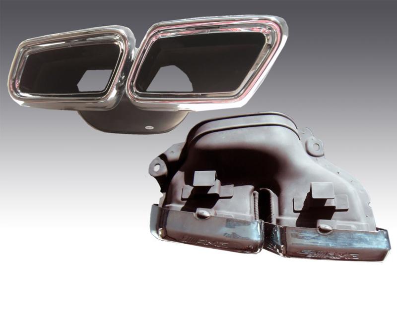 Image of PIECHA AMG Twin Exhaust Tip Set Mercedes-Benz SL-Class AMG SL6365 R231 13-14