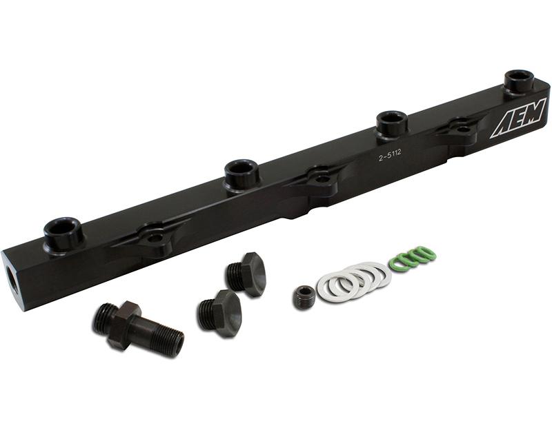 AEM Electronics High Volume Fuel Rail Honda S2000 2.2L | 2157ccL4 [F22C1] 04-05 - 25-112BK