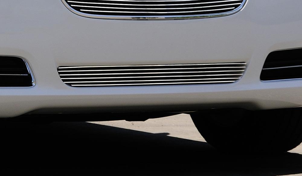 Chrysler 300 Bumper Grille 11-14 Chrysler 300 Aluminum Polished Billet Series T-REX Grilles - 25433
