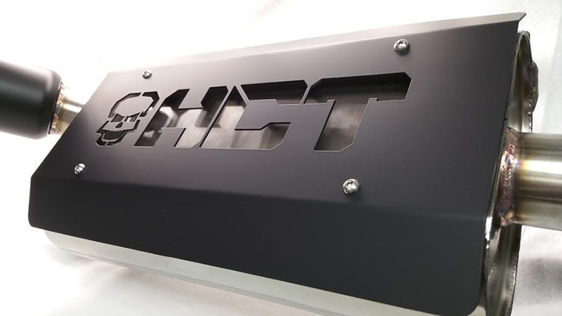 HCT Exhaust Stainless Quietcore System Polaris RZR XP Turbo - 2930101
