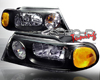 SpecD Black Housing Headlights Lincoln Navigator 98-02
