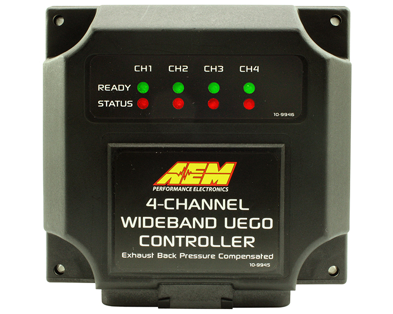 AEM 4 Channel Wideband 4 Channel Wideband UEGO Controller for Nascar McLaren ECU via CAN Universal - 30-2340-N
