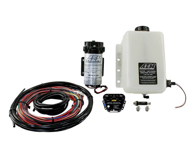 AEM Electronics V2 Water Methanol Injection Kit  Multi Input Controller with 1 Gallon Tank - 30-3350