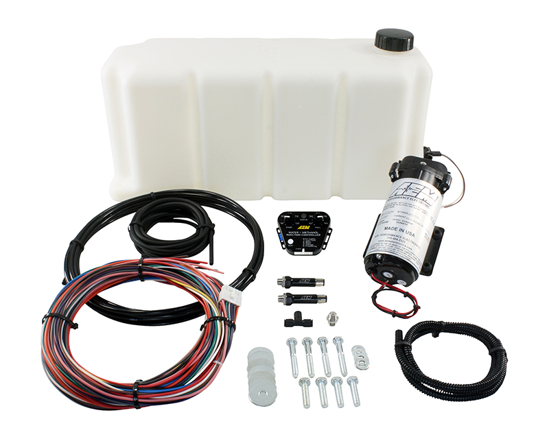 AEM Electronics V2 Water Methanol Injection Kit Multi Input Controller with 5 Gallon Tank - 30-3351