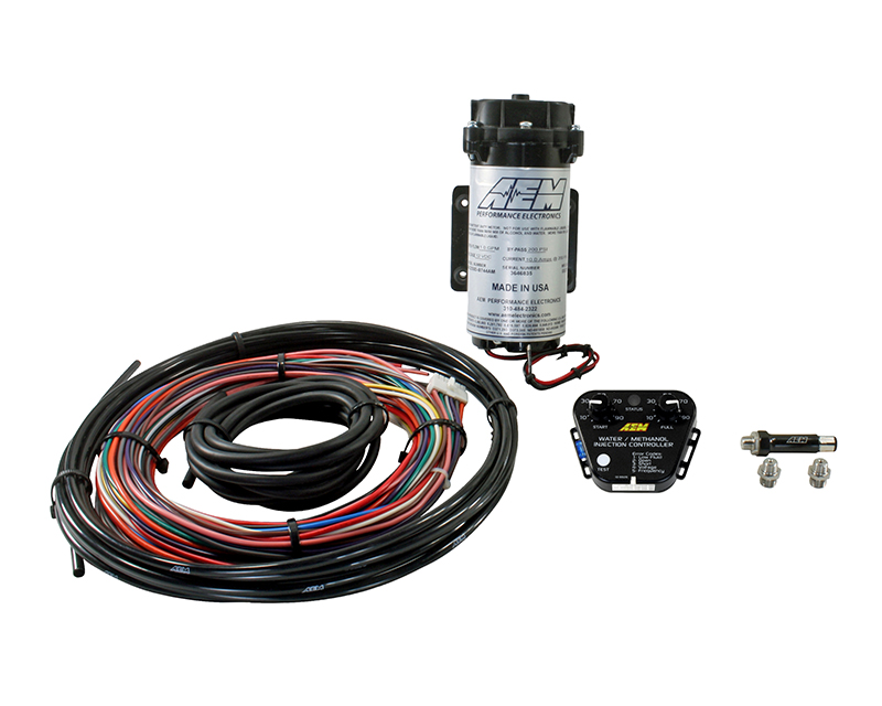 AEM Electronics V2 Water Methanol Nozzle and Controller Kit - 30-3352