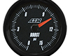 Image of AEM Analog Boost Fuel Pressure SAE Gauge 015PSI Universal