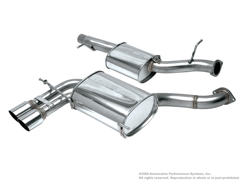 Neuspeed Stainless Steel Catback Exhaust System Audi A3 06-13 - 30.02.68