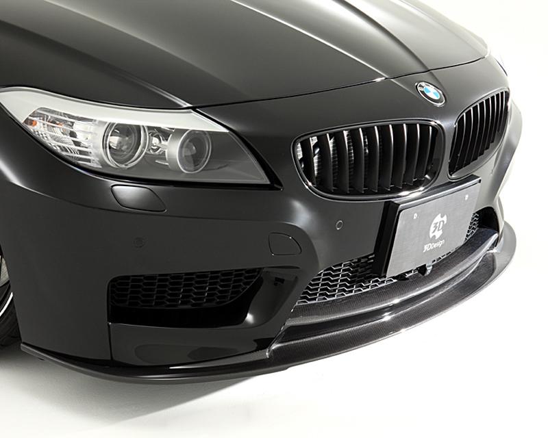 Image of 3D Design Carbon Fiber Front Lip Spoiler BMW Z4 E89 M Sport 10-15