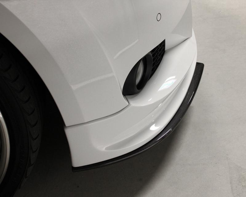 3D Design Carbon Fiber Front Under Splitter BMW 3 Series E92 | E93 M Sport 06-11
