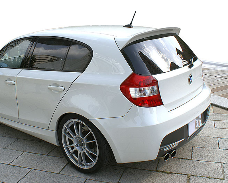 3d design urethane roof spoiler bmw 1 series e87 m sport 2011. Black Bedroom Furniture Sets. Home Design Ideas