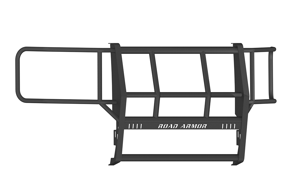 CHEVY 1500 SILVERADO 14-15 Front Brushguard  BLACK Road Armor - 314BRSH-W