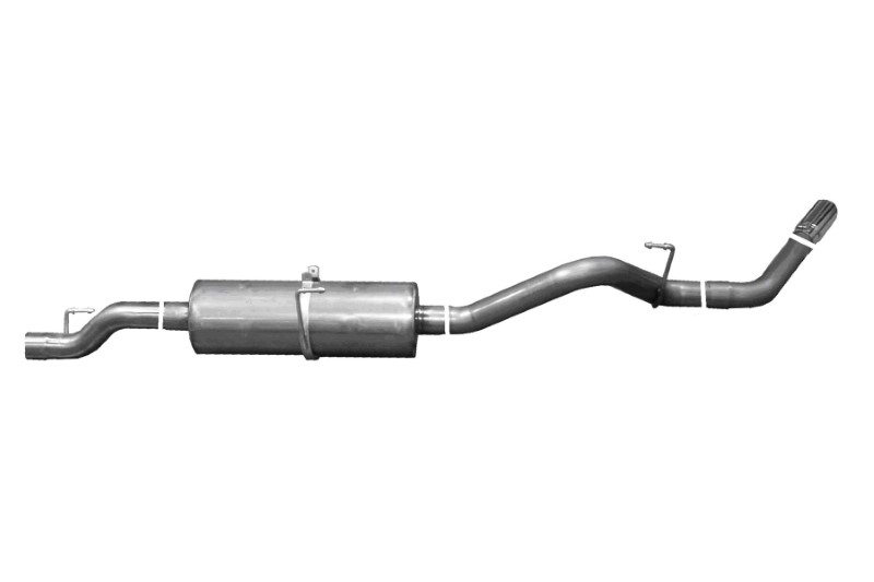 Gibson Performance Axle Back Dual Exhaust System Aluminized - 316000