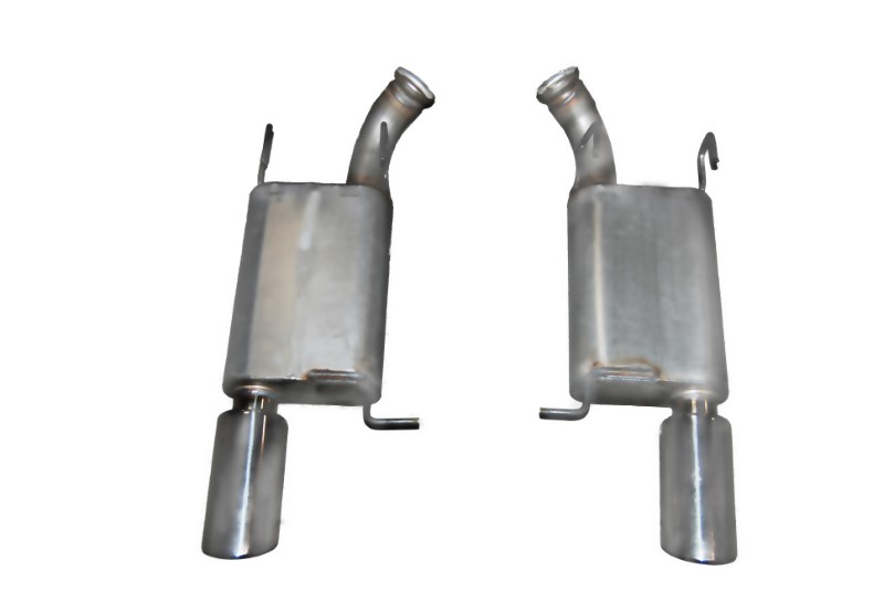 Gibson Performance Axle Back Dual Exhaust System Aluminized - 319010