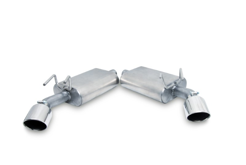 Gibson Performance Axle Back Dual Exhaust System Aluminized - 320001