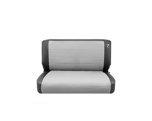 Corbeau CJ YJ Jeep Seat Covers CJ YJBlack Vinyl Grey