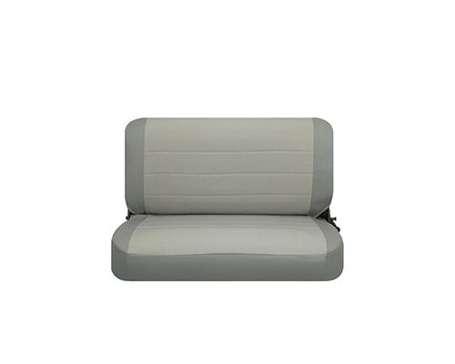 Corbeau CJ YJ Jeep Seat Covers CJ YJGrey Vinyl Cloth 32099