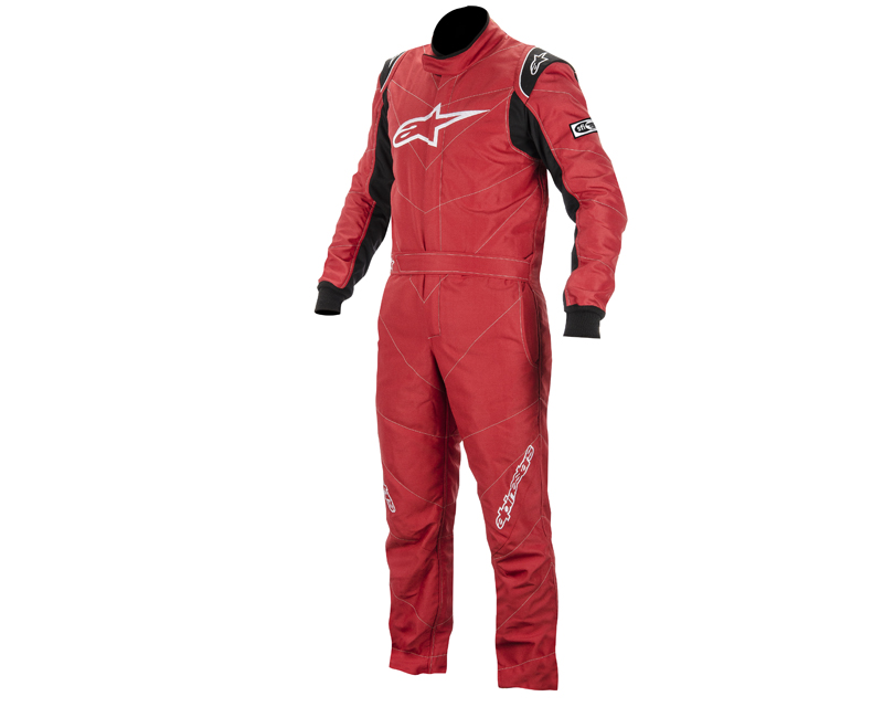 Image of Alpinestars GP Racing Suit Red Black