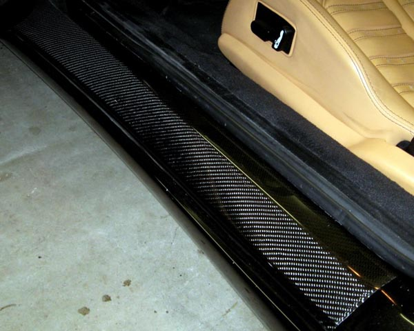 R-Tuned Carbon Fiber Door Steps Ferrari 360 99-04