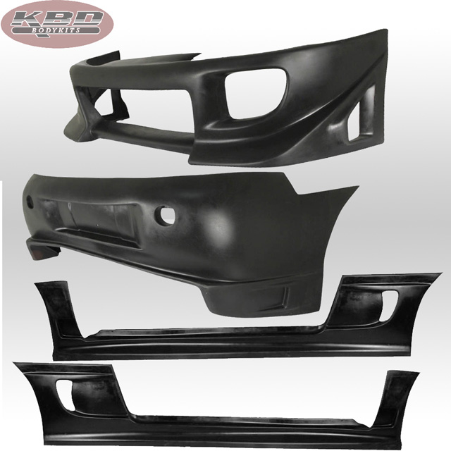 KBD Bodykits Blits Style 4 Piece Full Body Kit Mitsubishi Eclipse 95-99 - 37-2072