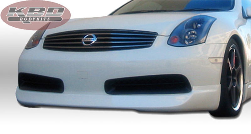 KBD Bodykits ING Style 4 Piece Full Body Kit Infiniti G35 Coupe 2DR Coupe 03-05 - 37-2070