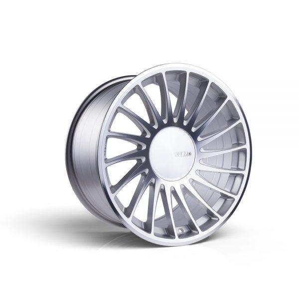 3SDM Silver Cut 04 Cast Wheel 20x10.5 5x120 +27/42mm - 3SDM-04-20105-5X120+2742