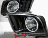 Image of SpecD Black CCFL Halo Headlights Ford Mustang 05-09