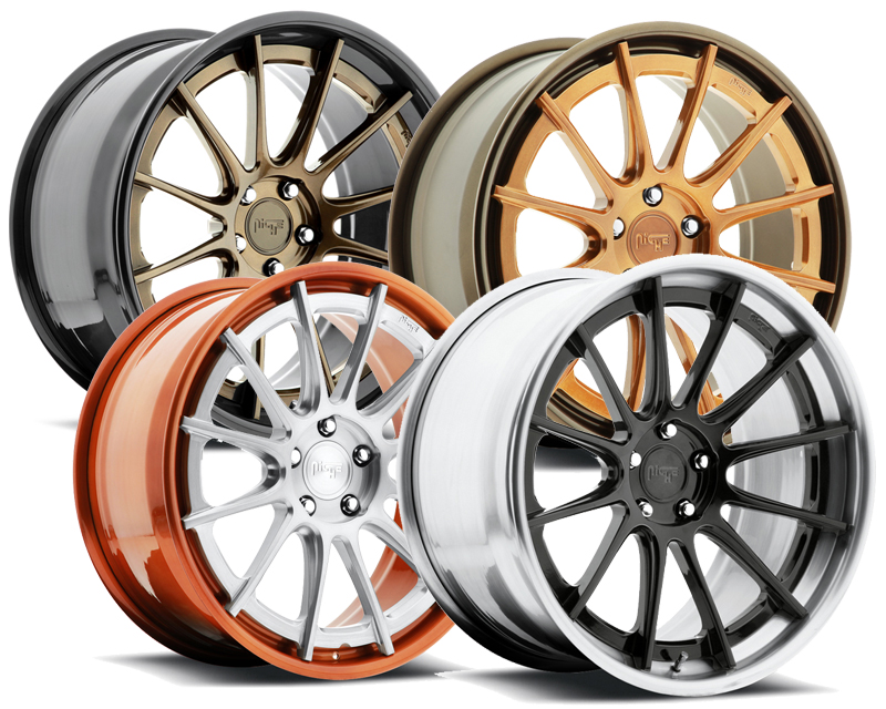 Niche Wheels 3-Piece Series H360 Agile 21 Inch Wheel - 3PCAGILE21