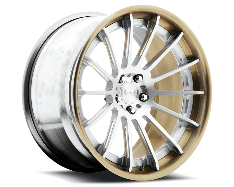 Niche Wheels 3-Piece Series H520 Geneva 21 Inch Wheel - 3PCGENEVA21