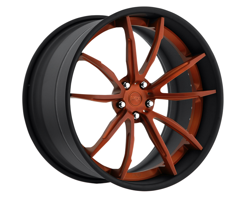Niche Wheels 3-Piece Series A440 Monza 21 Inch Wheel - 3PCMONZA21