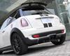 3D Design Carbon Fiber Rear Diffuser Mini Cooper S R55 R56 07-12