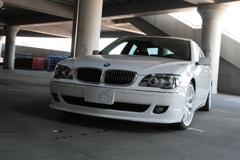 3D Design Urethane Front Lip Spoiler BMW 7 Series E65 E66 05-10
