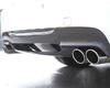 Image of 3D Design Carbon FiberFRP Rear Diffuser BG 2 Tip Exhuast BMW 3 Series E90 M-Sport 06-11