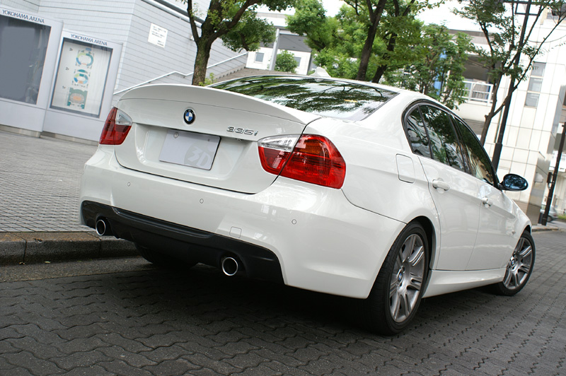 3D Design Urethane Trunk Spoiler BMW 3 Series E90 06-11