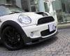 3D Design Carbon Fiber Front Lip Spoiler Mini Cooper S R55 R56 07-12