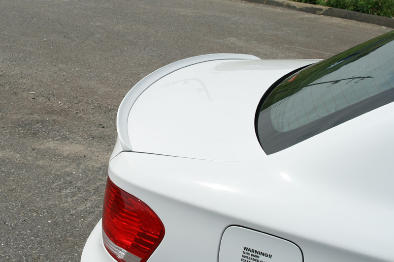 3D Design Trunk Lip Spoiler BMW 1 Series E82 M Sport 08-11 - 3109-18211