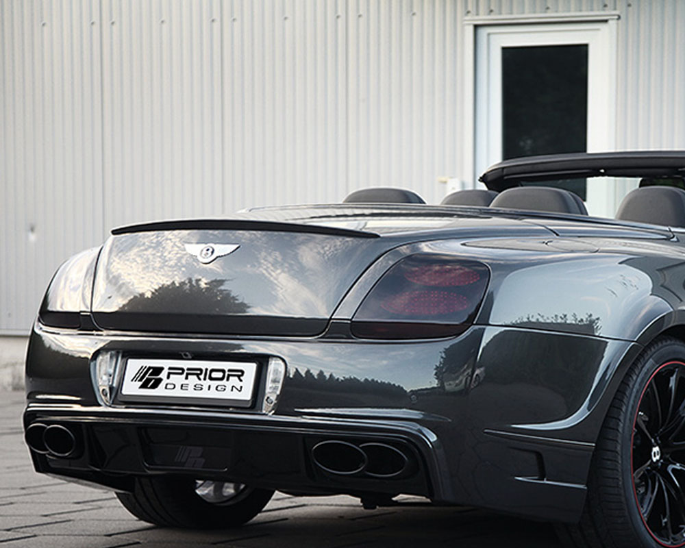 Prior Design PD Rear Trunk Spoiler Bentley Continental GT | GTC 04-11 - 4260609890532
