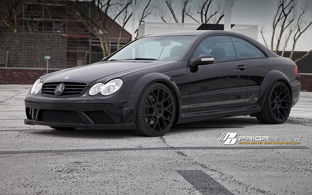 Prior Design PD Black Edition Widebody Aerodynamic Kit Mercedes-Benz CLK-Class W209 03-09 - 4260609892215