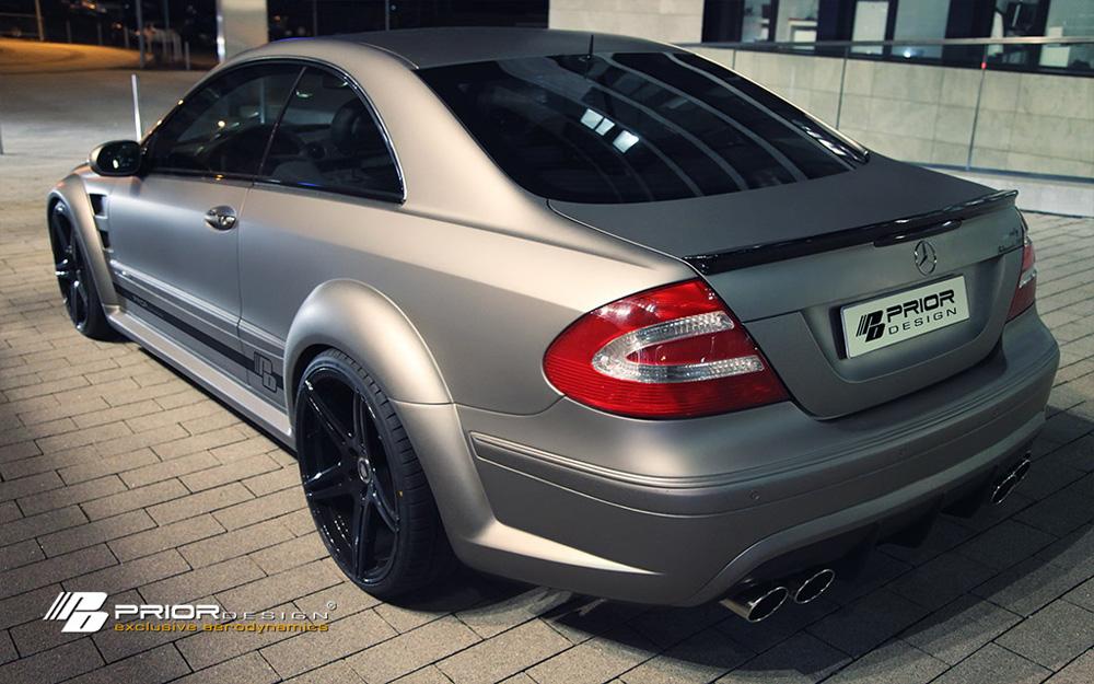 Prior Design PD Black Edition Trunk Spoiler Mercedes-Benz CLK-Class W209 03-09 - 4260609892239