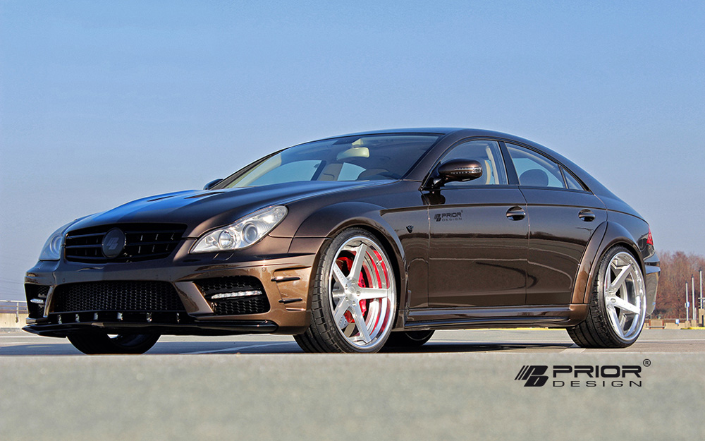 Prior Design PD Black Edition Widebody Aerodynamic Kit Mercedes-Benz CLS-Class W219 04-10 - 4260609892277