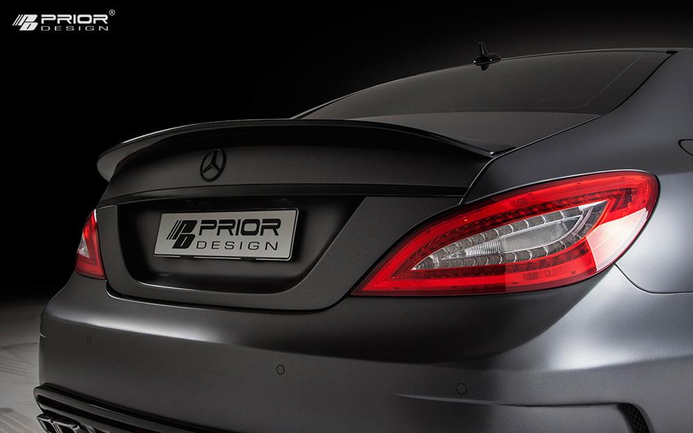 Prior Design PD550 Black Edition Trunk Spoiler Mercedes-Benz CLS-Class W218 11-17 - 4260609892369
