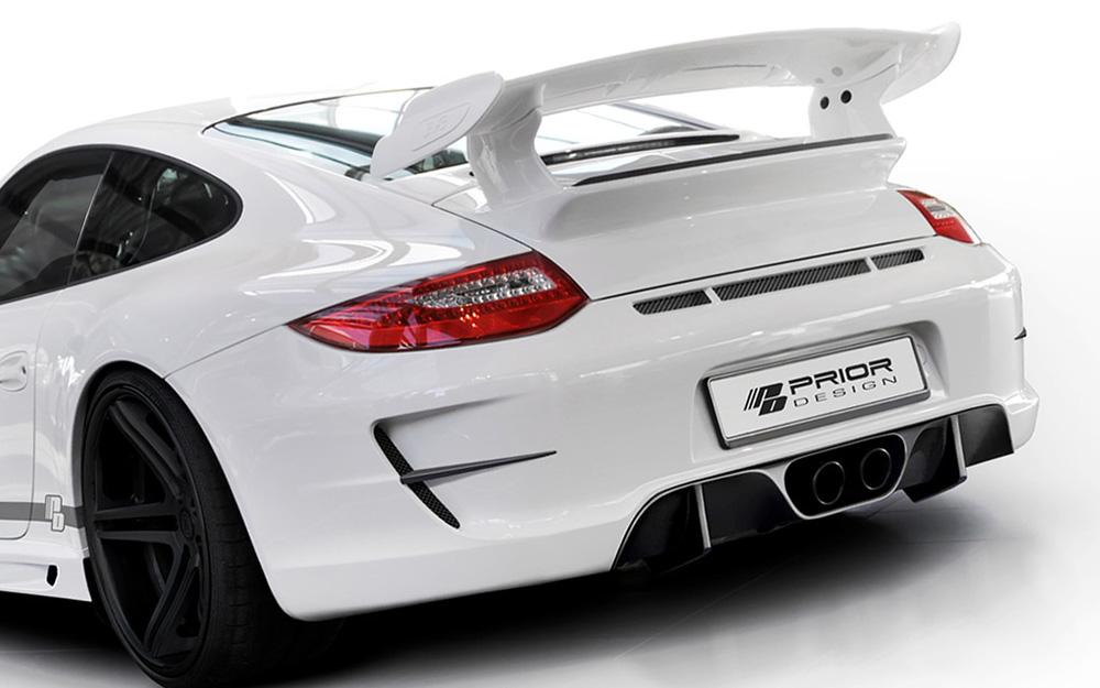 Prior Design GT3 Style Rear Bumper Porsche 997.2 Carrera 09-11 - 4260609893601