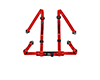 Image of Corbeau Harness Belt Red 4 Point Bolt-In 44007B